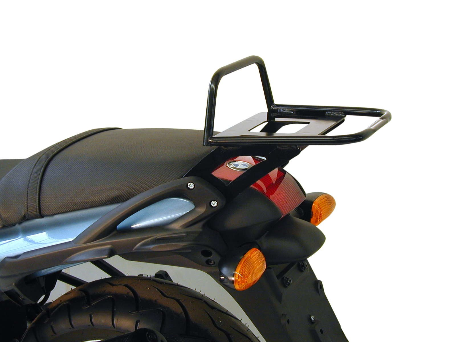Tube Topcasecarrier – black for BMW R 850 R from 03 / R 1150 R - Image 1